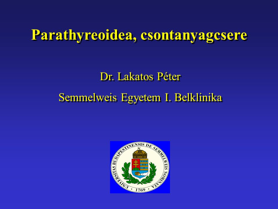 Parathyreoidea, csontanyagcsere