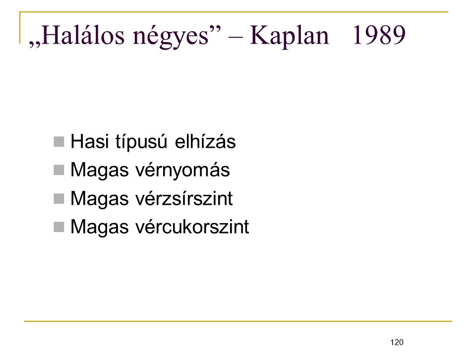 """""""Halálos négyes – Kaplan 1989"""