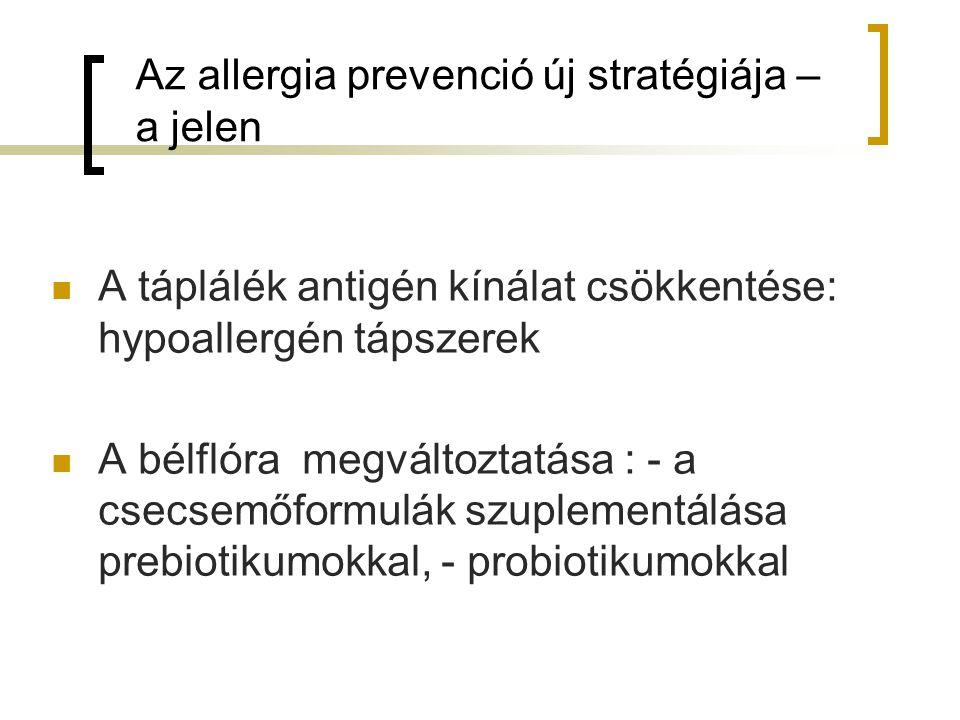 Az allergia prevenció új stratégiája – a jelen