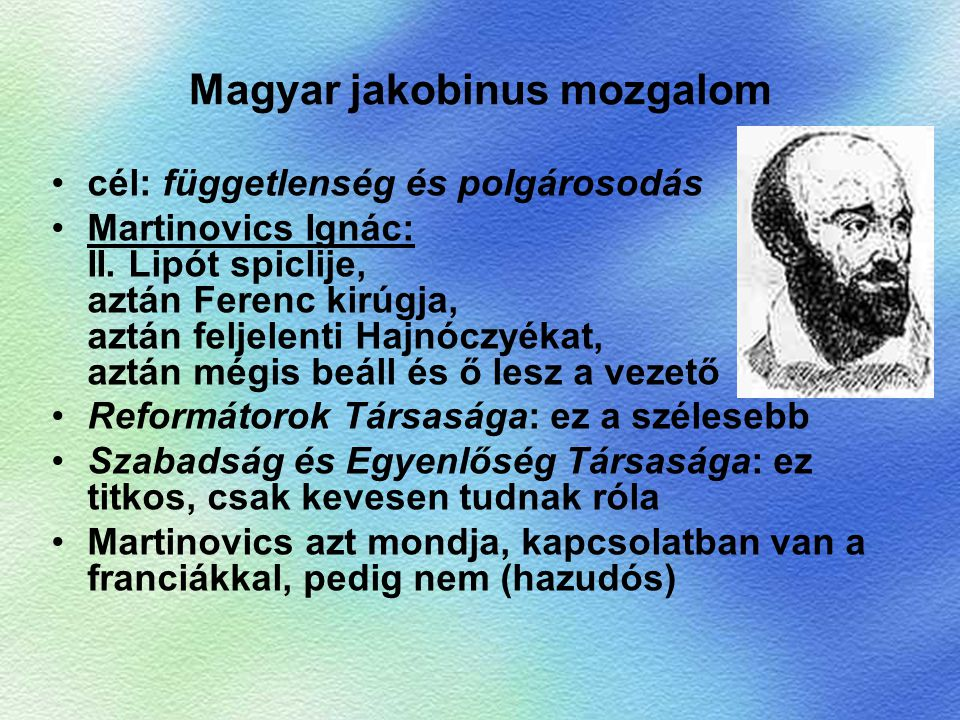 Magyar jakobinus mozgalom