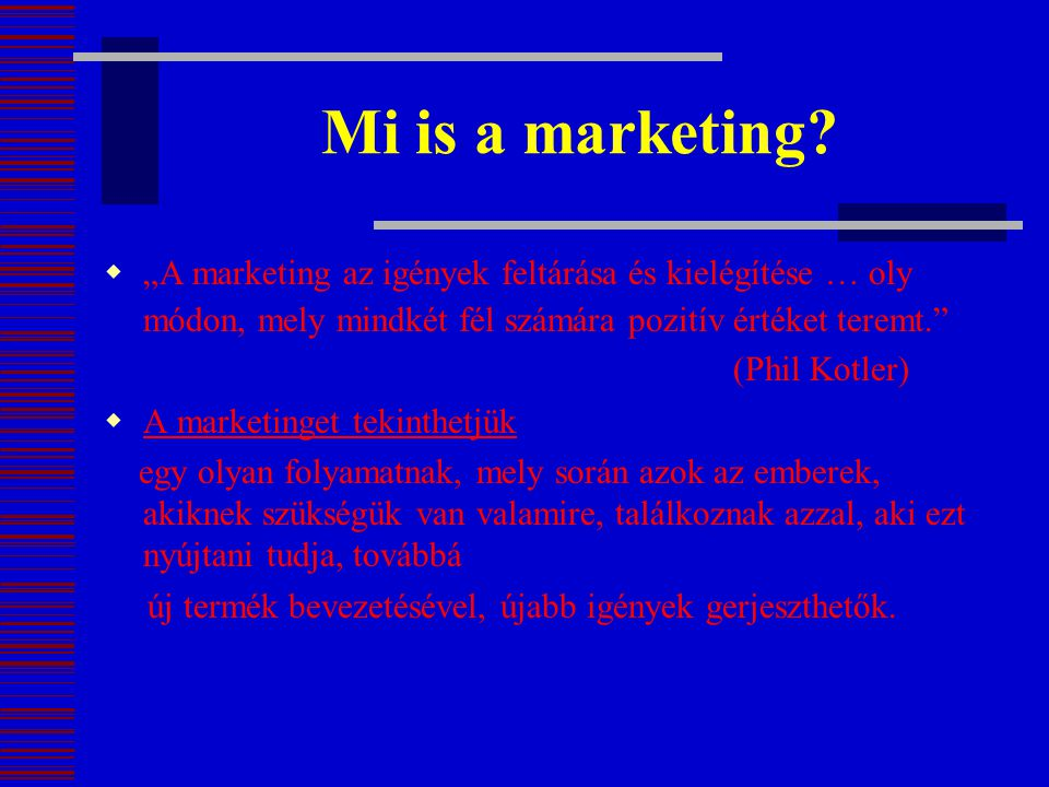 Mi is a marketing
