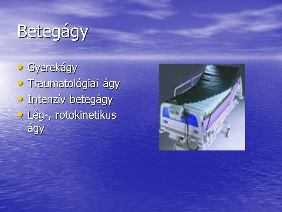 Betegágy Gyerekágy Traumatológiai ágy Intenzív betegágy