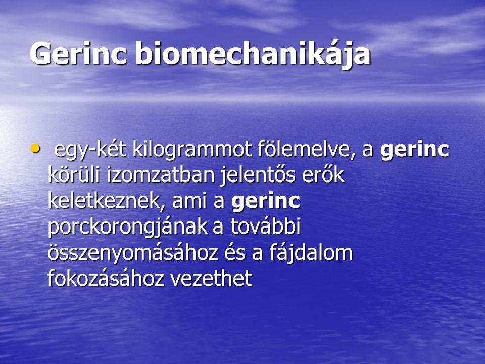 Gerinc biomechanikája