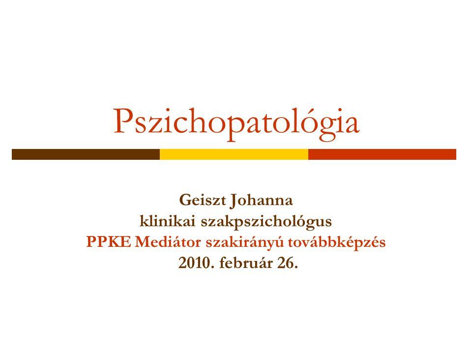 klinikai szakpszichológus PPKE Mediátor szakirányú továbbképzés