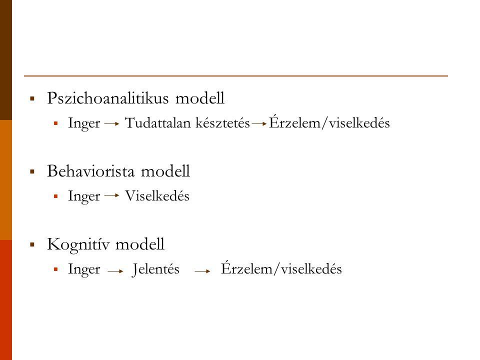 Pszichoanalitikus modell