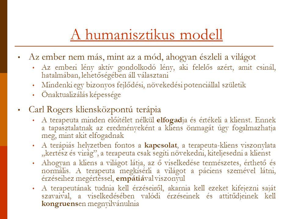 A humanisztikus modell