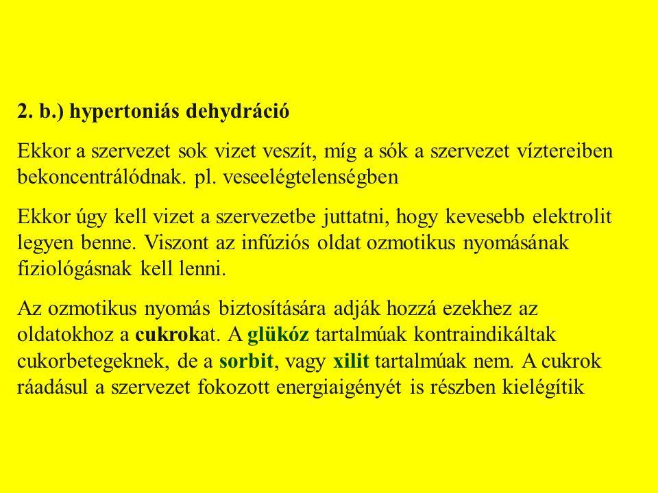 FOLYADÉK-ELEKTROLIT HÁZTARTÁS ZAVARAINAK KEZELÉSEV.
