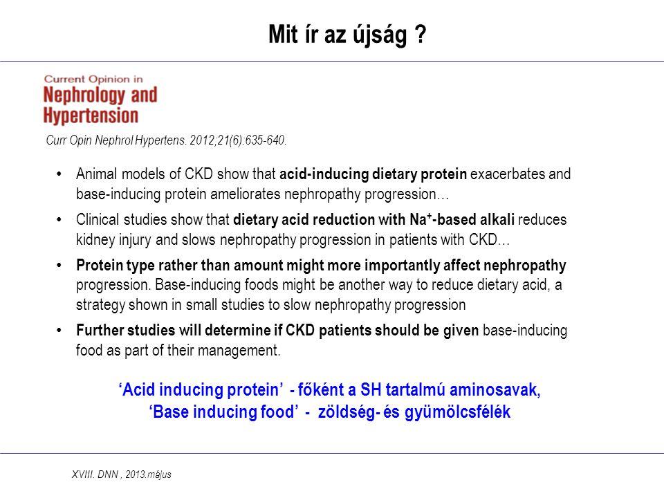 Mit ír az újság Curr Opin Nephrol Hypertens. 2012;21(6):635-640.
