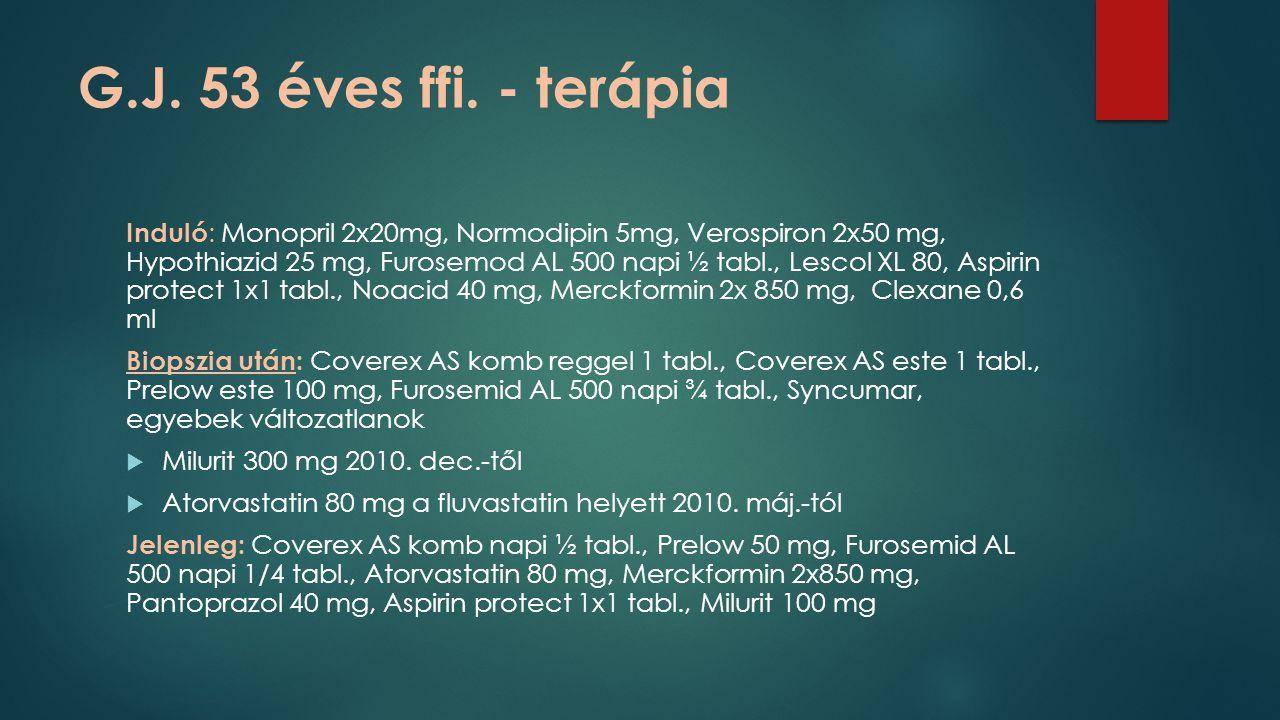 G.J. 53 éves ffi. - terápia