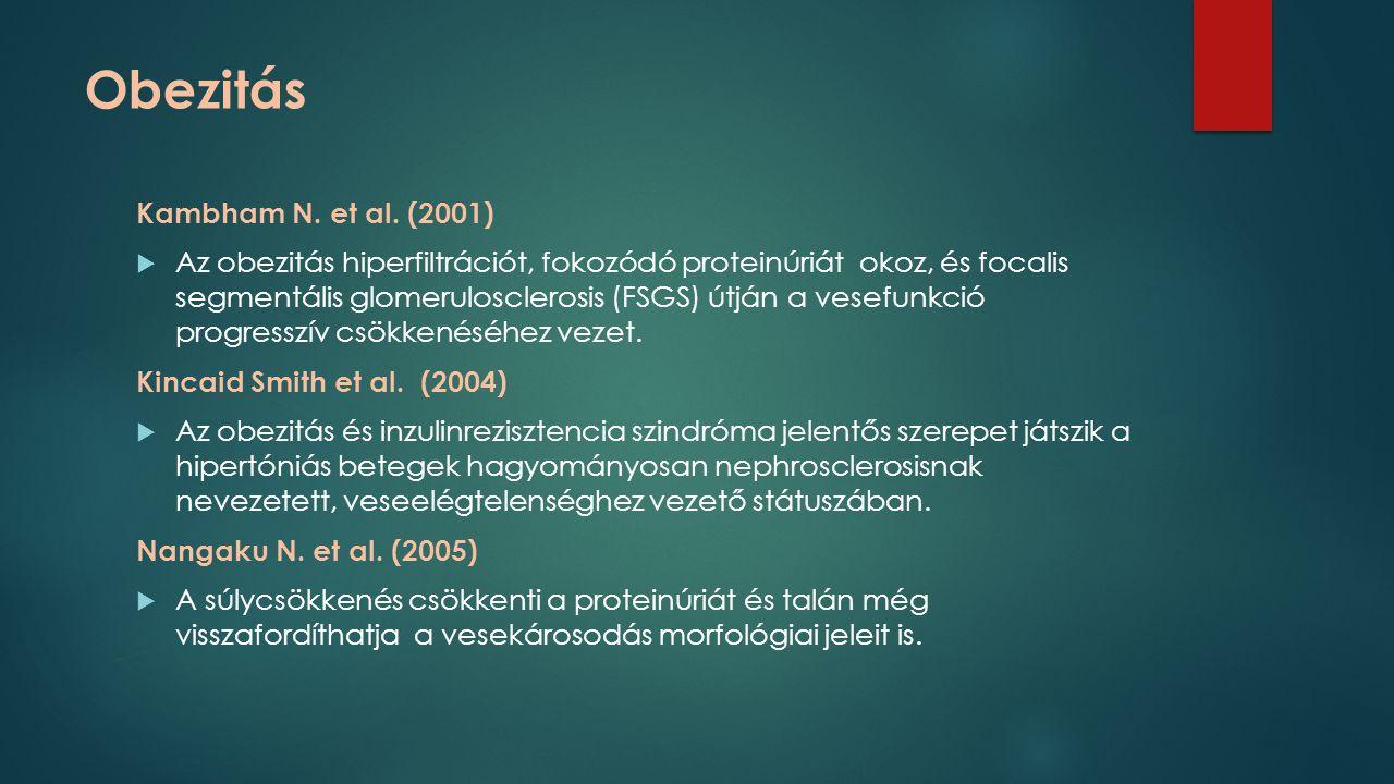 Obezitás Kambham N. et al. (2001)