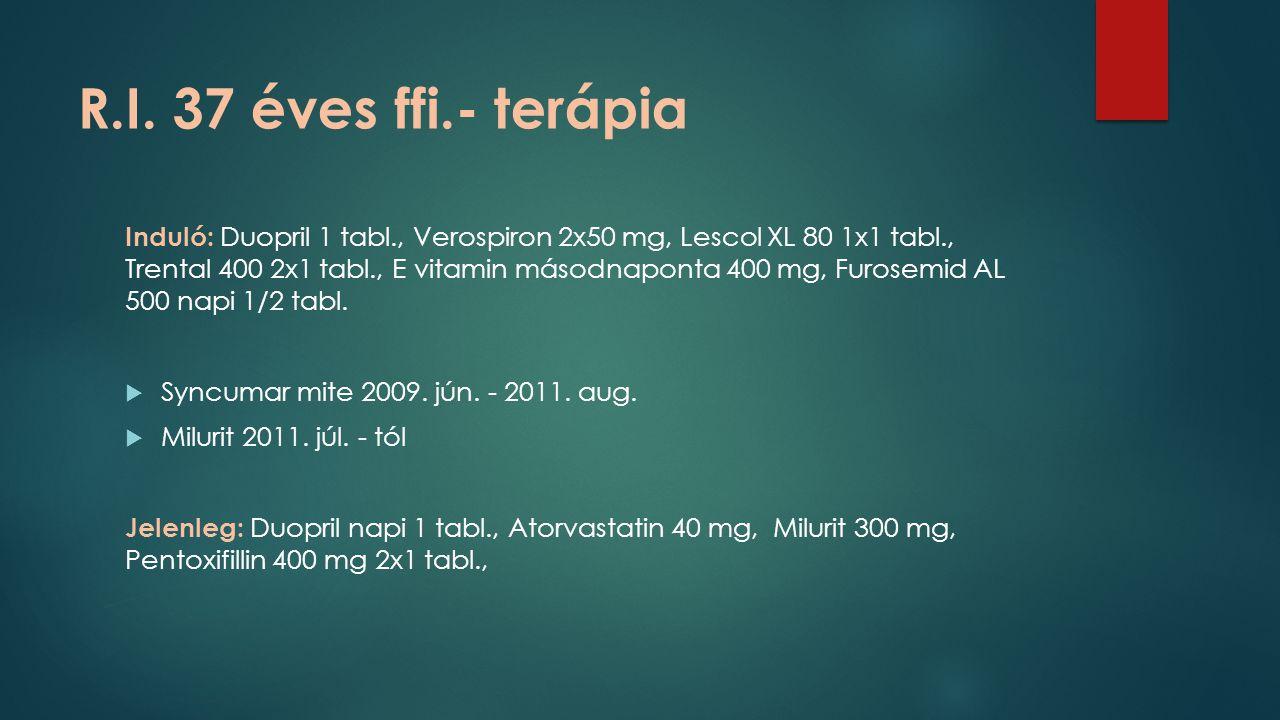 R.I. 37 éves ffi.- terápia