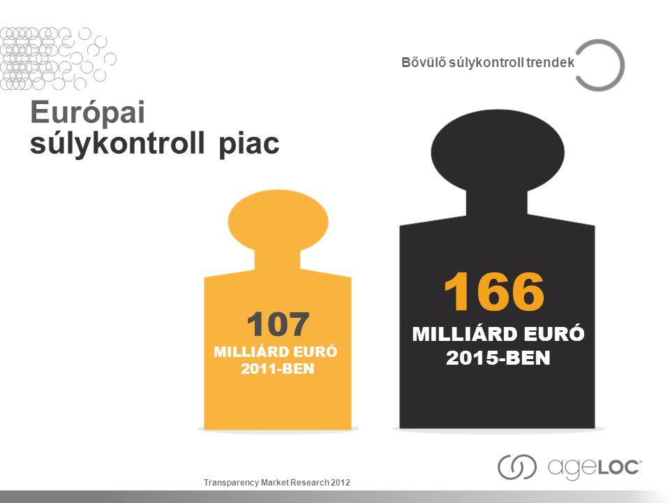 166 107 Európai súlykontroll piac MILLIÁRD EURÓ 2015-BEN