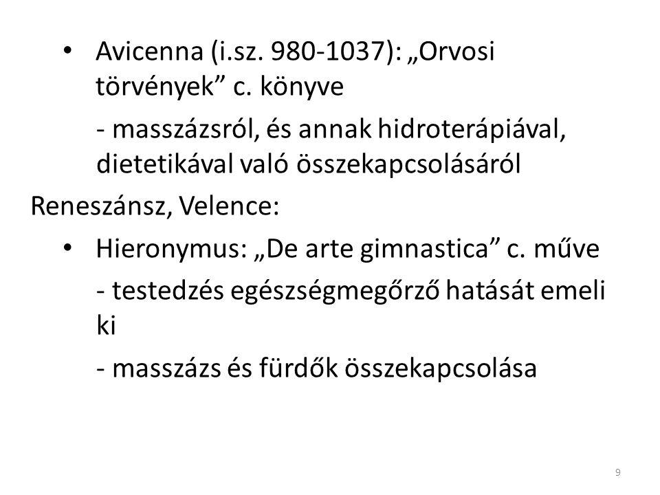 """Avicenna (i.sz. 980-1037): """"Orvosi törvények c. könyve"""