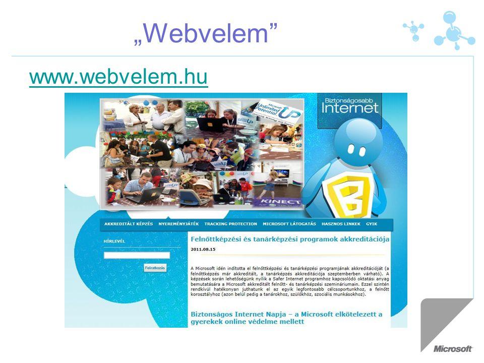 """""""Webvelem www.webvelem.hu"""