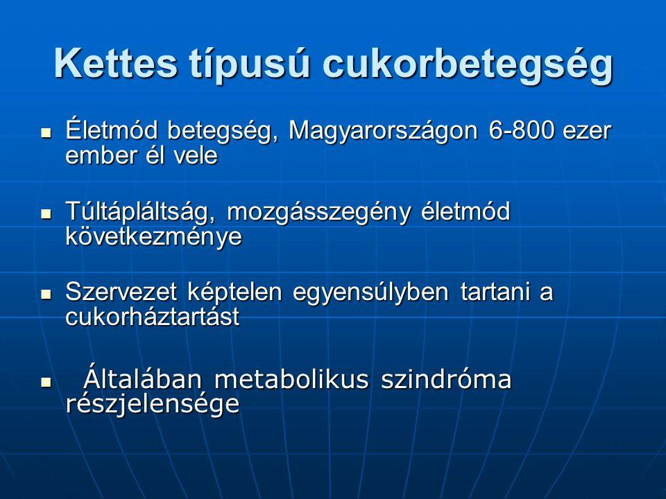 Kettes típusú cukorbetegség