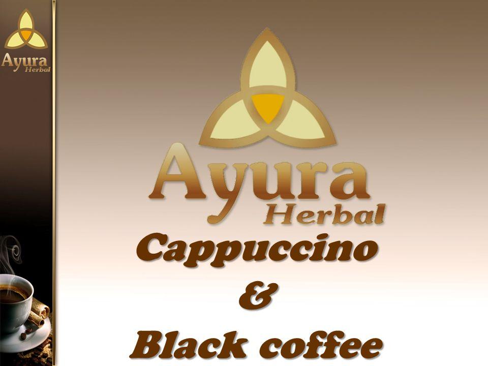 Cappuccino & Black coffee