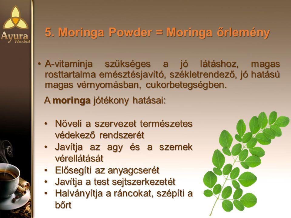 5. Moringa Powder = Moringa őrlemény