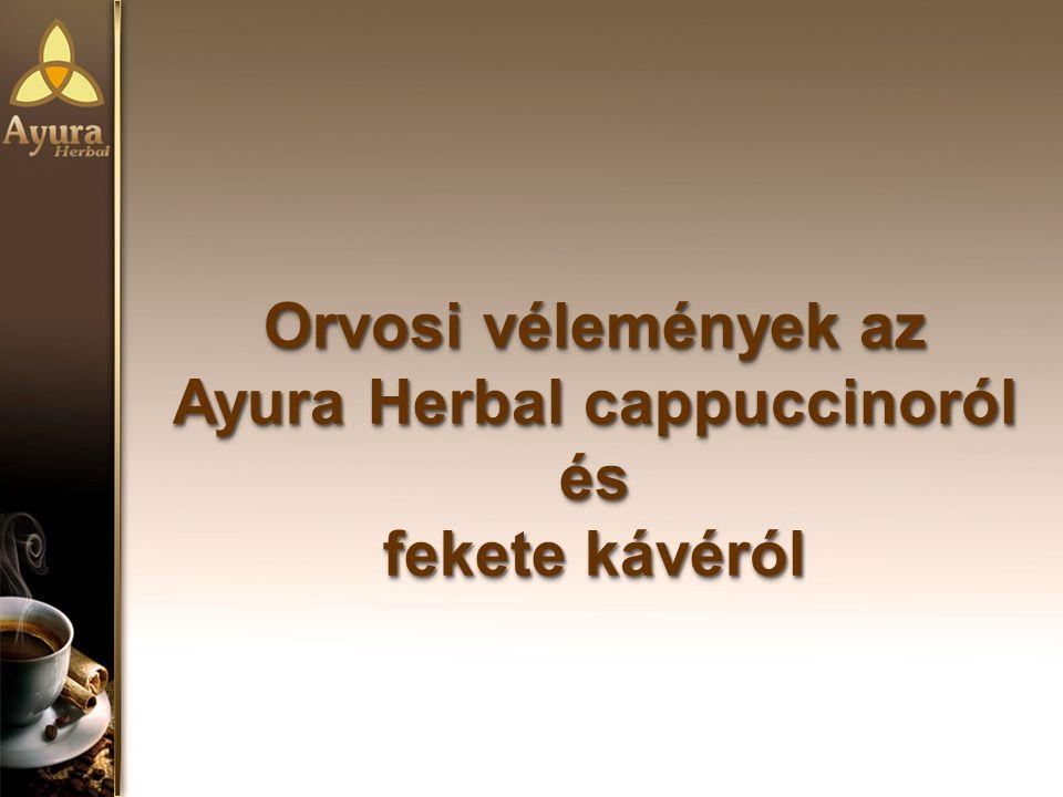 Ayura Herbal cappuccinoról és