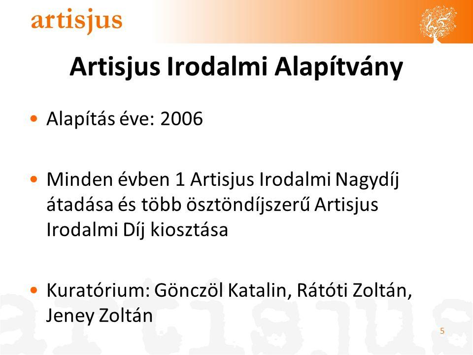 Artisjus Irodalmi Alapítvány