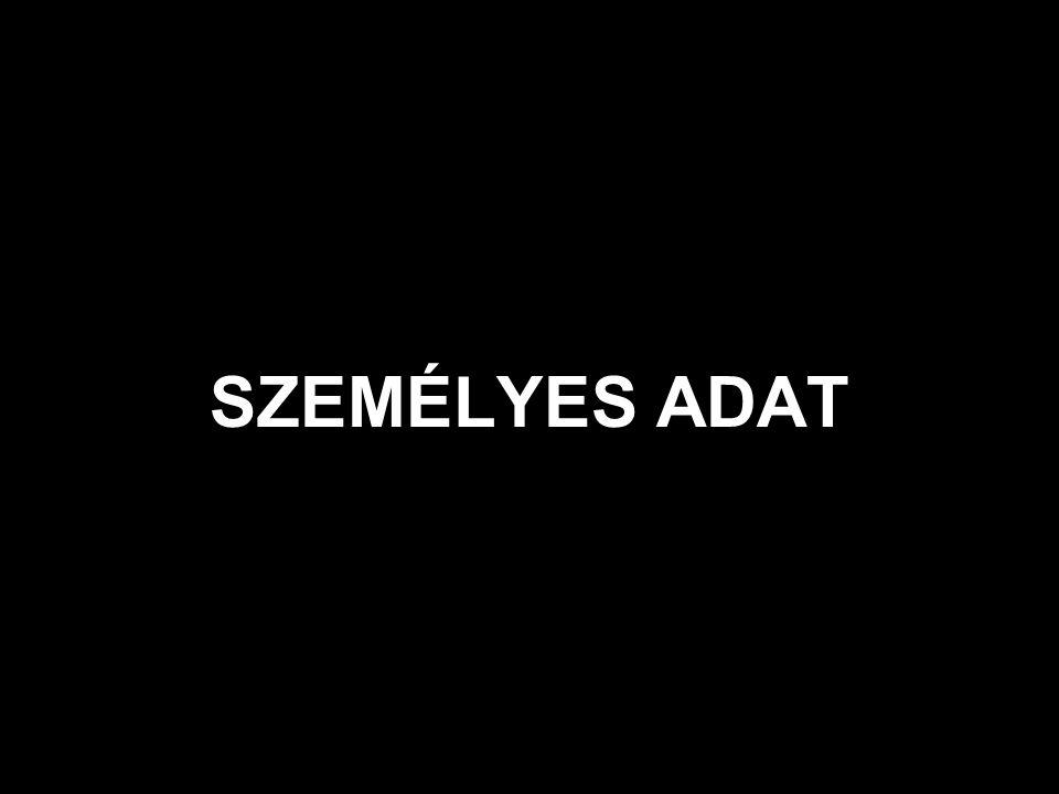 SZEMÉLYES ADAT