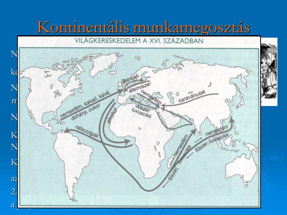 Kontinentális munkamegosztás