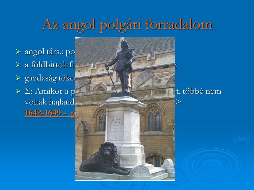 Az angol polgári forradalom