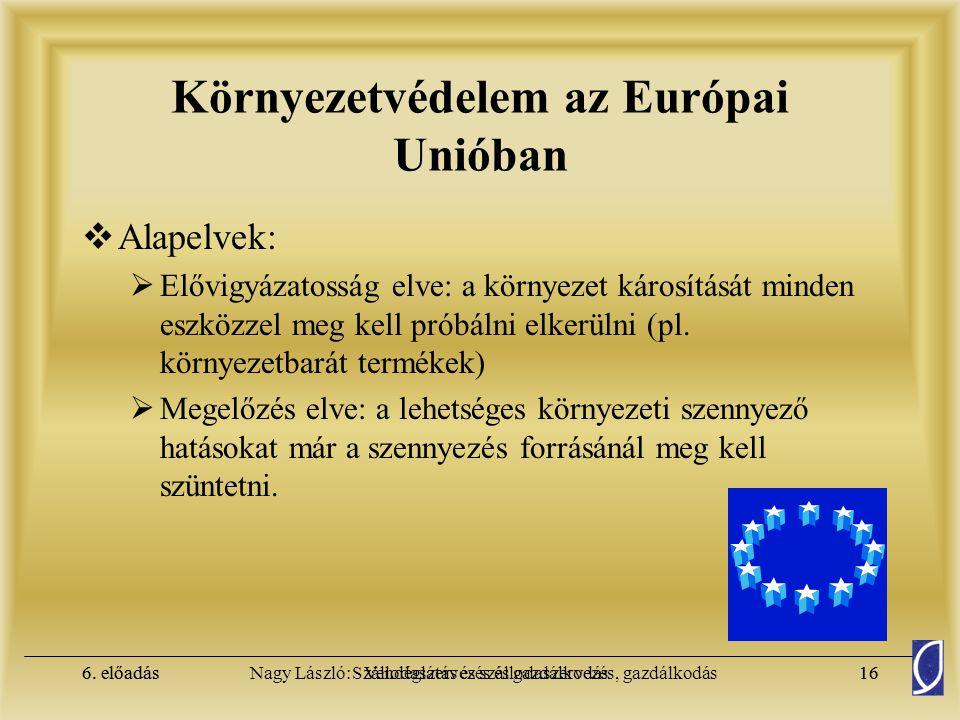 Környezetvédelem az Európai Unióban