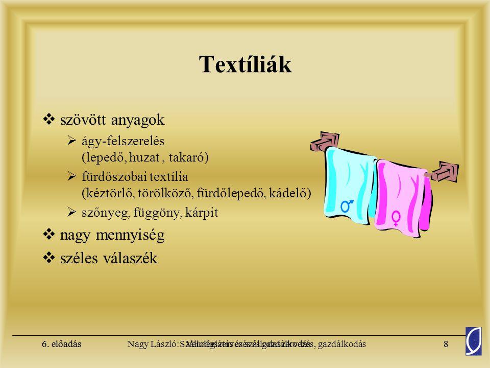 Textíliák szövött anyagok nagy mennyiség széles válaszék