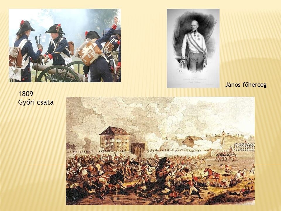 János főherceg 1809 Győri csata
