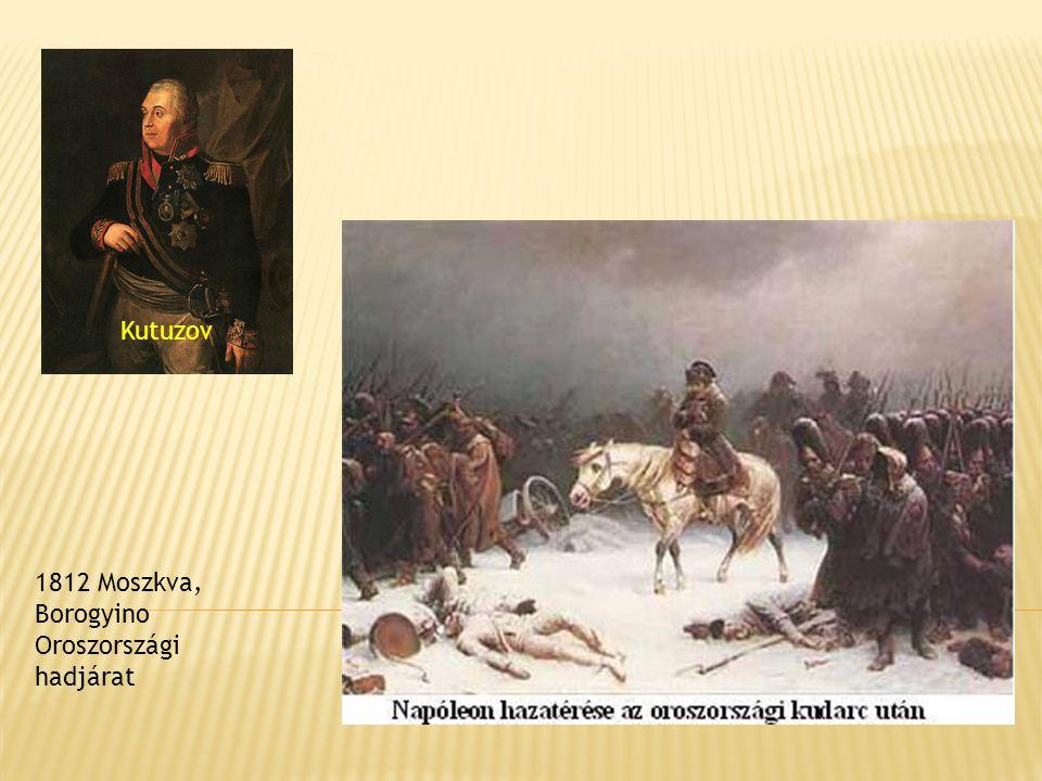 Kutuzov 1812 Moszkva, Borogyino Oroszországi hadjárat