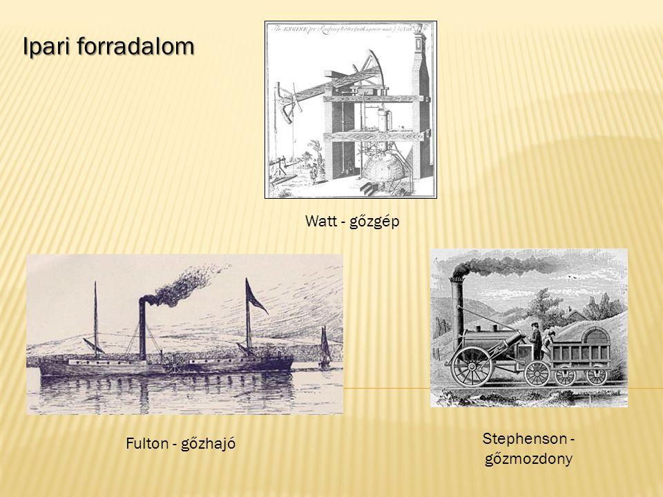 Stephenson - gőzmozdony