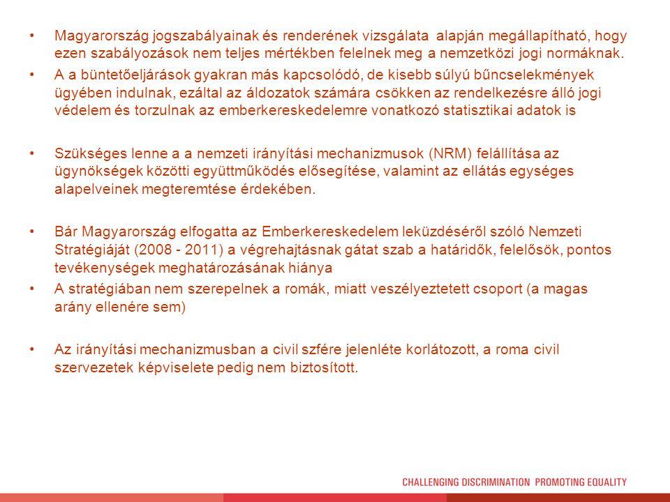Magyarország jogszabályainak és renderének vizsgálata alapján megállapítható, hogy ezen szabályozások nem teljes mértékben felelnek meg a nemzetközi jogi normáknak.