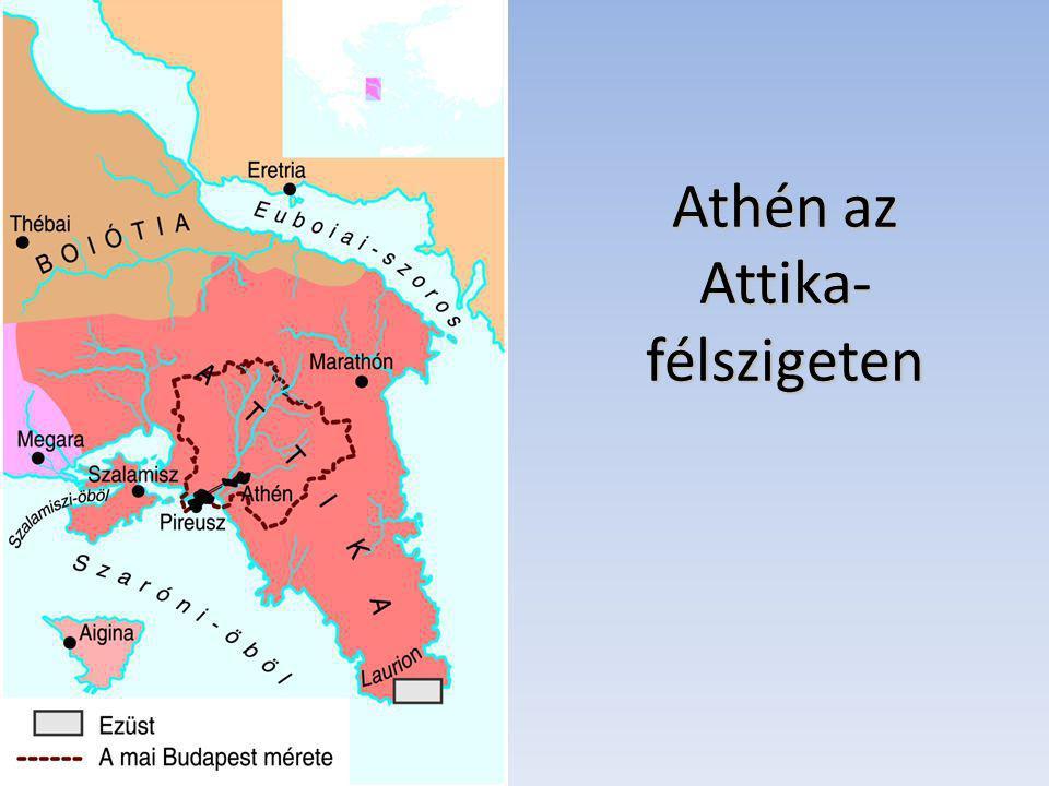 Athén az Attika-félszigeten