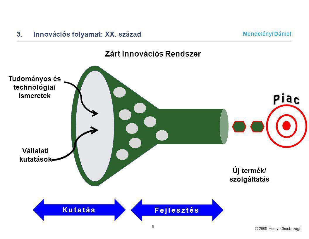3. Innovációs folyamat: XX. század