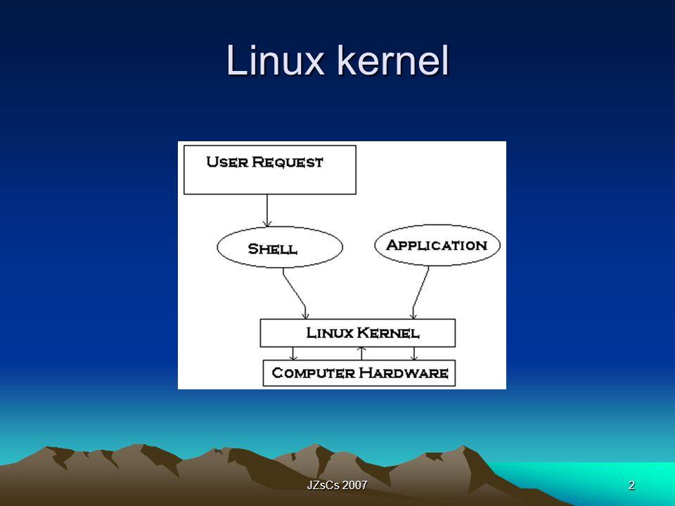 Linux kernel JZsCs 2007