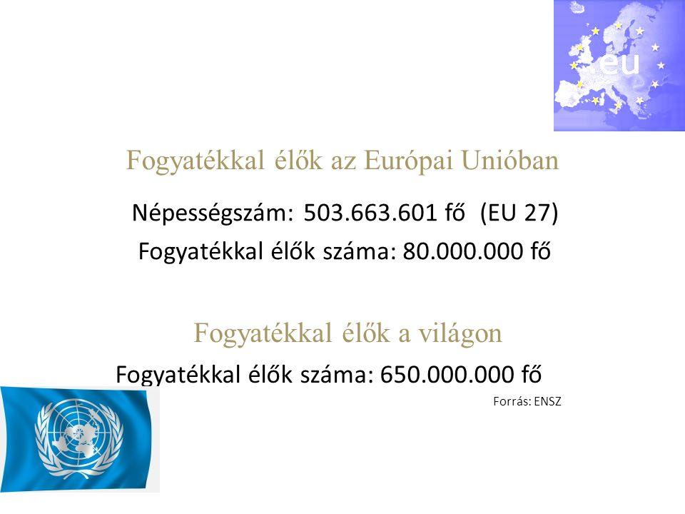 Fogyatékkal élők az Európai Unióban
