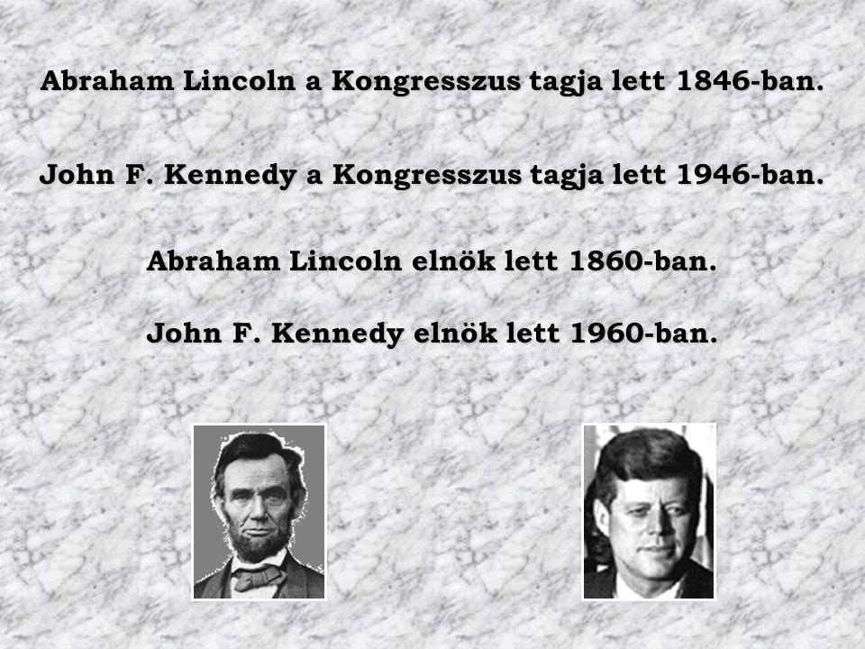 Abraham Lincoln a Kongresszus tagja lett 1846-ban.