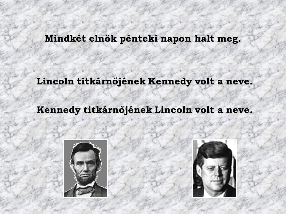 Mindkét elnök pénteki napon halt meg.