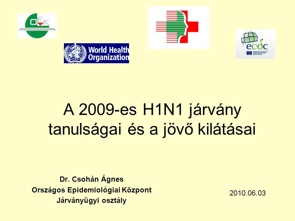 A 2009-es H1N1 járvány tanulságai és a jövő kilátásai