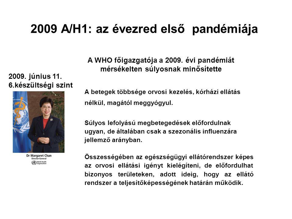 2009 A/H1: az évezred első pandémiája