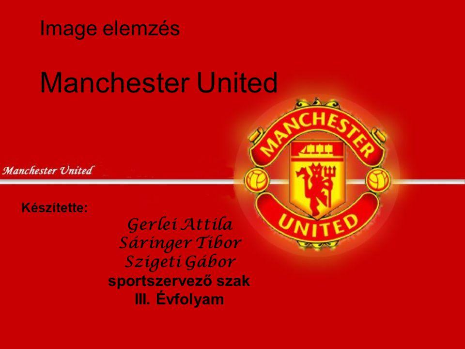 Image elemzés Manchester United