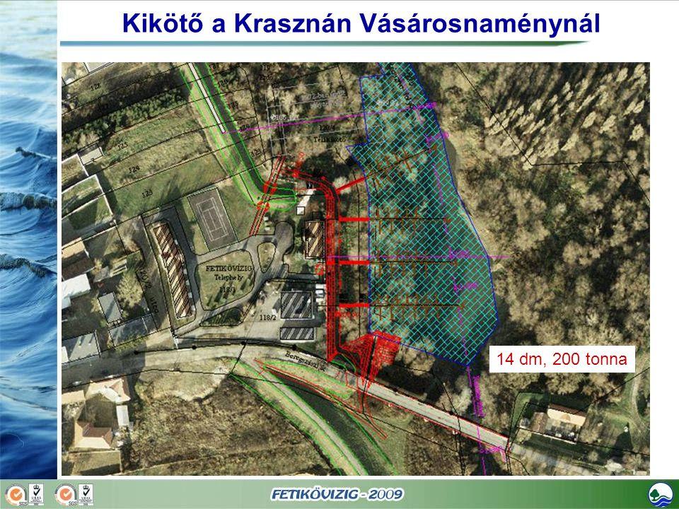 Kikötő a Krasznán Vásárosnaménynál