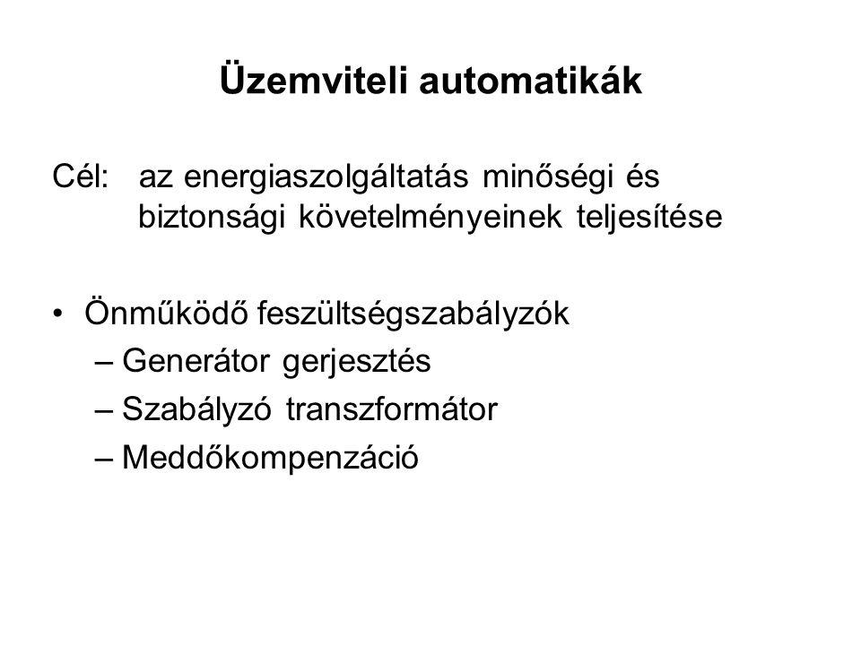 Üzemviteli automatikák