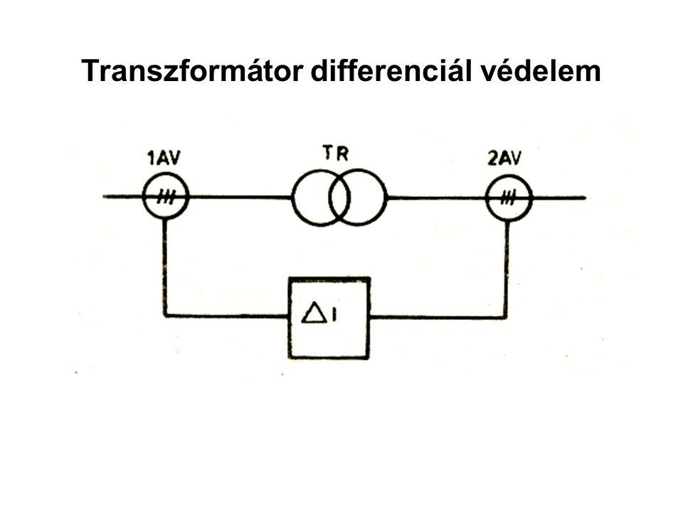 Transzformátor differenciál védelem