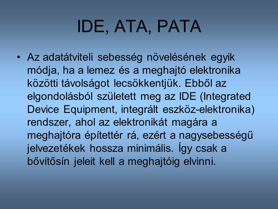 IDE, ATA, PATA