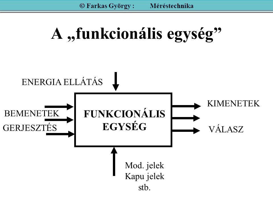 """A """"funkcionális egység"""