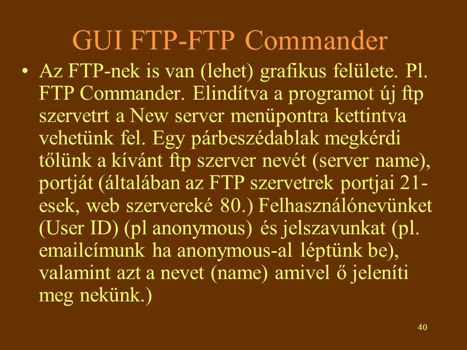 GUI FTP-FTP Commander