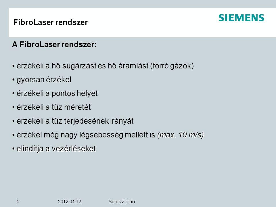 A FibroLaser rendszer: