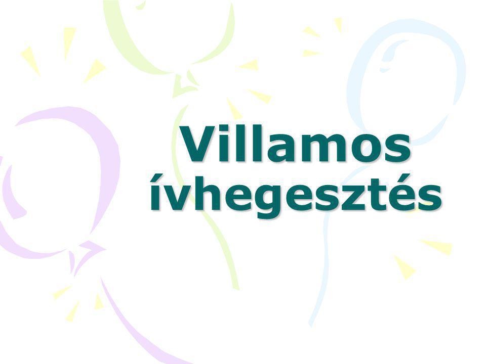 Villamos ívhegesztés
