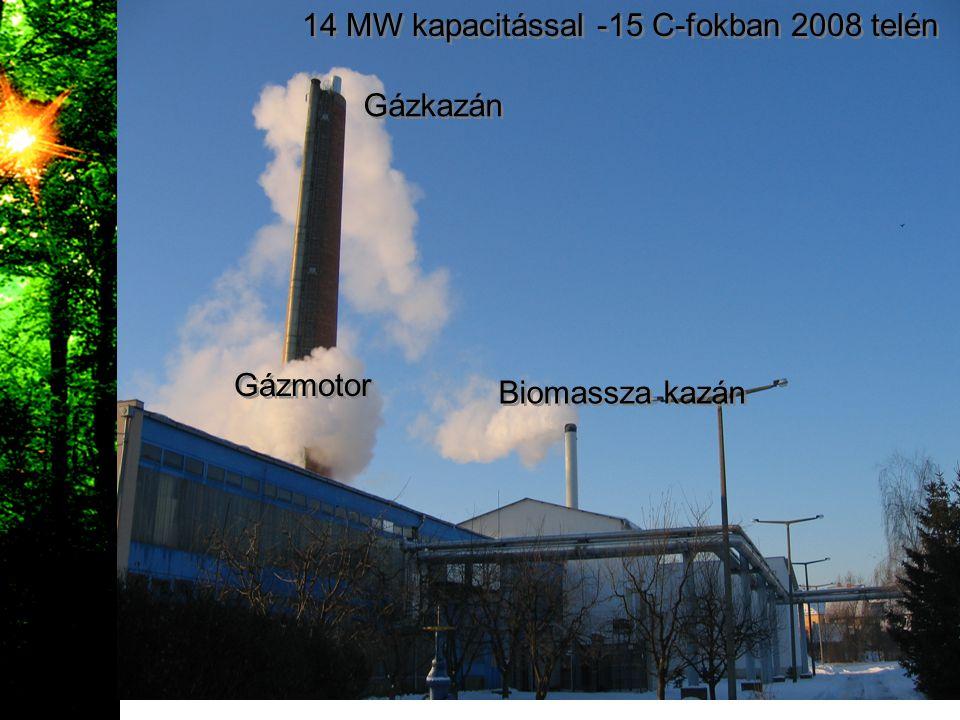 14 MW kapacitással -15 C-fokban 2008 telén
